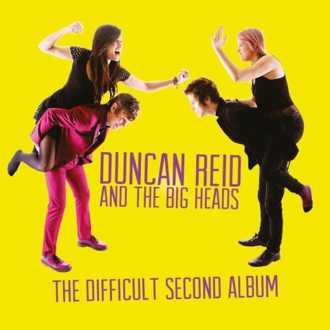 Duncan Reid (ex The Boys) and the Big Heads är tillbaka med det andra, svåra albumet!