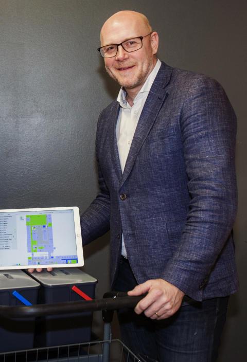 Claes Sunebring, försäljningschef Service, Facility Solutions, Procurator