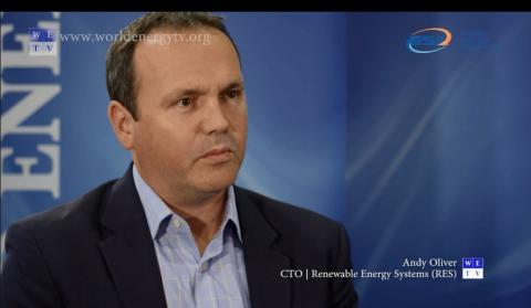 Andrew Oliver, RES CTO, talks about RES' energy storage deployments