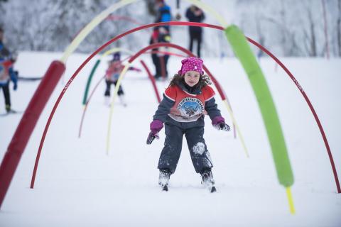 Skileik i regi av Skiskolen