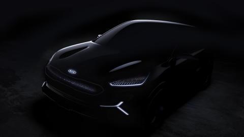 Kia EV Concept CES _frontview