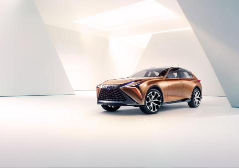 Lexus LF-1 Limitless har tagits fram vid företagets designcenter Calty Design Research i Kalifornien