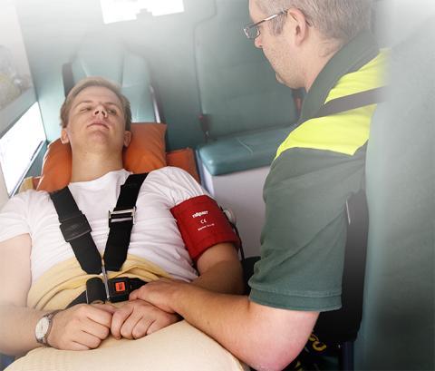 Medlearns första kull med ambulanssjukvårdare på väg mot examen