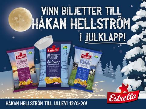 Estrella tävlar ut eftertraktade biljetter till Håkan Hellström på Ullevi