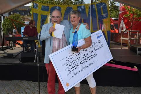 Ebba Andersson från Öxabäck får första Idrotts-Loket på 50 000 kronor