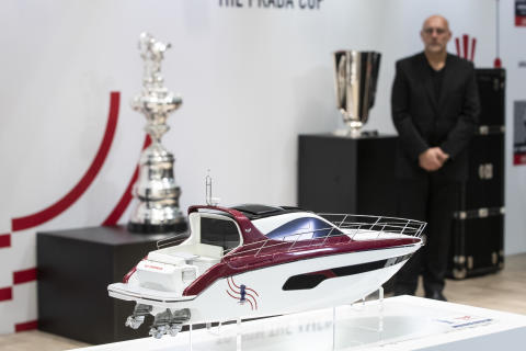 Hi-res image - Yanmar - Yanmar Presents X47 Express Cruiser with America's Cup at boot Düsseldorf
