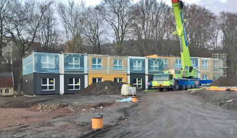 Zenergy premiärvisade ZIP-Bostäder som uppförs åt Wallenstam för vd:ar från större fastighetsutvecklare
