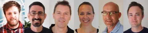 Sex nya kollegor på Bjäre Kraft!