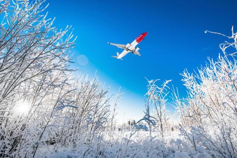 Norwegianin matkustajat valitsevat hiihtolomalla kaupunki- tai rantakohteen