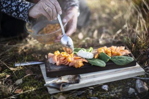 Outdoor cooking, Jämtland Härjedalen
