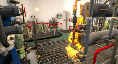 Kongsberg Digital: Advanced new firefighting simulator improves maritime safety training