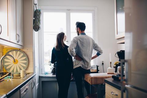 För den som planerar byta bostad är de ekonomiska utsikterna fortfarande positiva