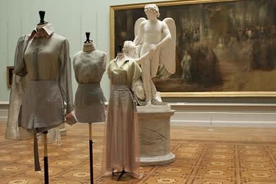 Nationalmuseum visar minikollektion från Project Runway