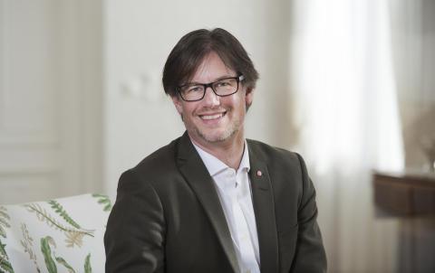 Björn Sundin (S) Kommunalråd. Fotograf Ulla-Carin Ekblom
