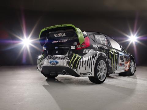 Ken Block kör svenskbyggd Monster-Fiesta i Rally America och X Games - bild 4