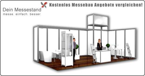 System Messestand - Messebau mit einem Messebausystem