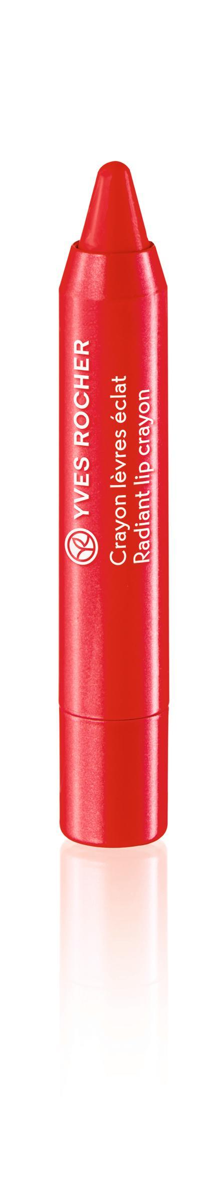 Couleurs Nature Radiant Lip Crayon Rouge aquarelle