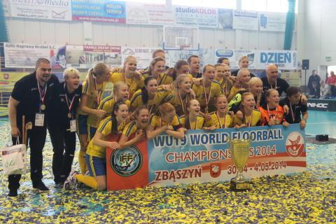 Sveriges U19 damer är åter världsmästare!