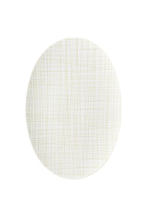R_Mesh_Line Cream_Platte 38 cm