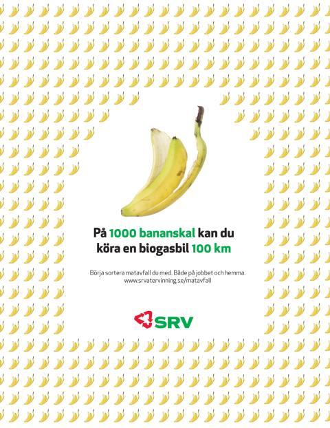 SRV tar banankontakt för nationella biogasveckan