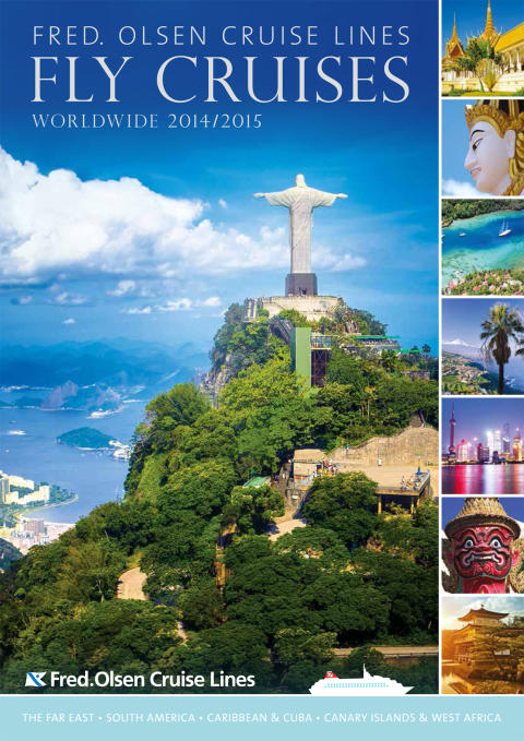Fred. Olsen Cruise Lines launches new 'Fly-Cruises Worldwide 2014/2015' brochure