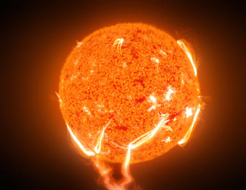 Shining a light on solar flares and particles