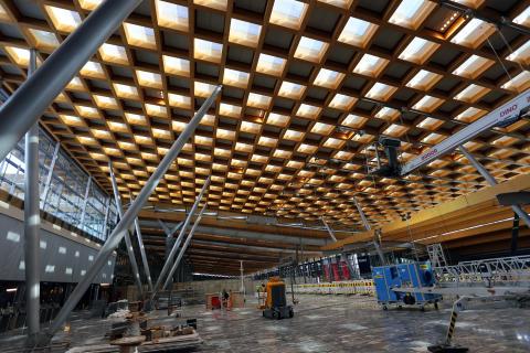 I rute til åpningen av nye Oslo Lufthavn