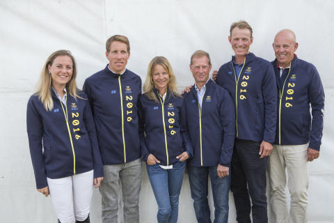 Swedish Olympic equestrian teams announced