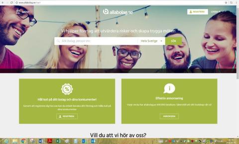 Allabolag.se lanserar ny webbplats