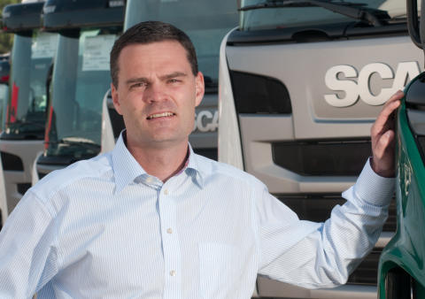Marcus Holm - Adm. direktør Scania Danmark