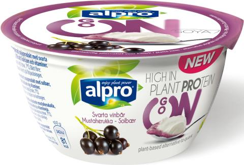 Alpro GO ON Svartvinbär