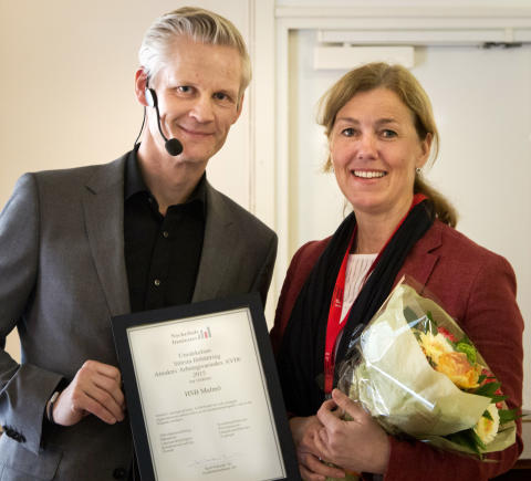 HSB Malmö prisbelönad som arbetsgivare