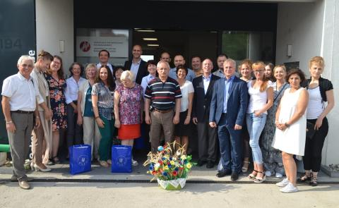 Hochschuldozenten von Don und Dnepr zu Seminar-Woche in Mannheim - Ziel: Professionalisierung und Stabilisierung der ukrainischen Kommunalverwaltung