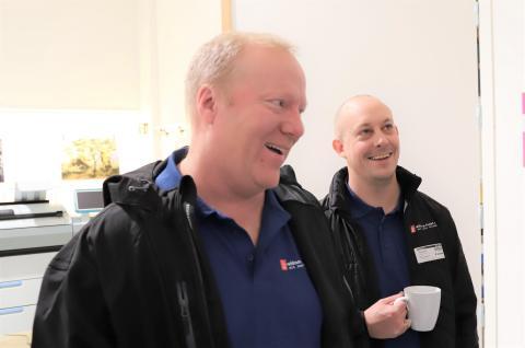 Åge Bakken og Olav Granly fra Reklame-huset.no