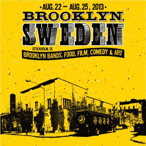 Brooklyn Brewery och Debaser presenterar: Kulturfestivalen Brooklyn Sweden tar Brooklyn till Södermalm