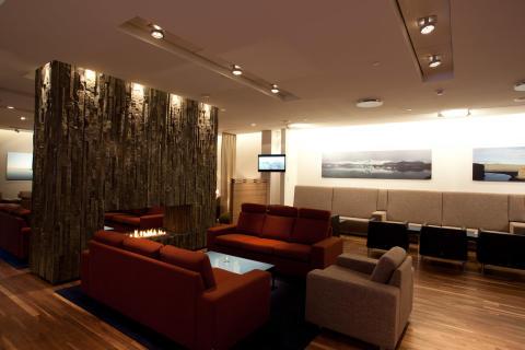 Icelandair Saga Lounge - Keflavik International Airport, Iceland