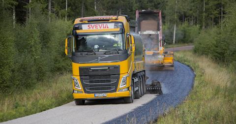 Svevias toppmoderna fabrik ger miljövänliga vägar