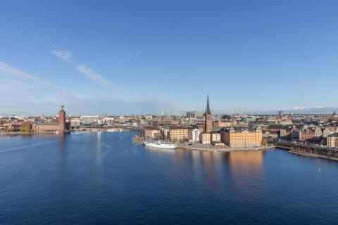 Unik kungsvåning i Laurinska palatset med makalös utsikt över Stockholm