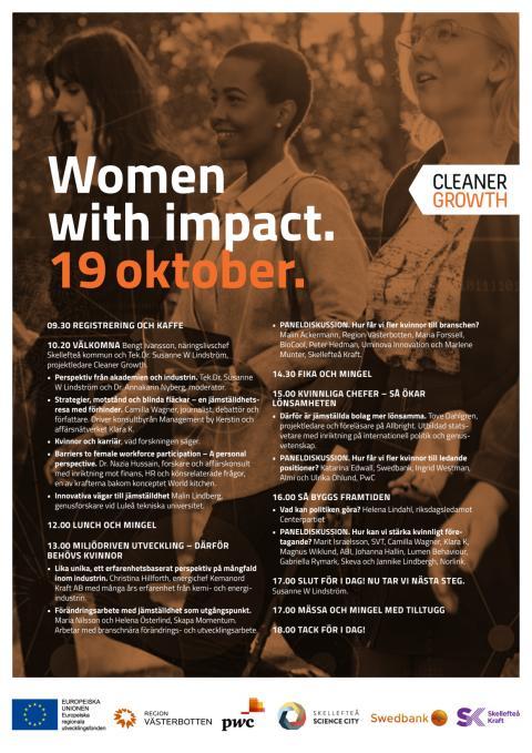 Program Women with impact 2016