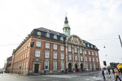 Centralpostbygningen i København
