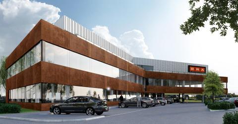 Colliers gör uthyrning i BRA Groups nybyggnation i Mölndal
