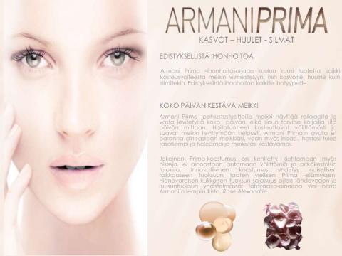 Armani Prima