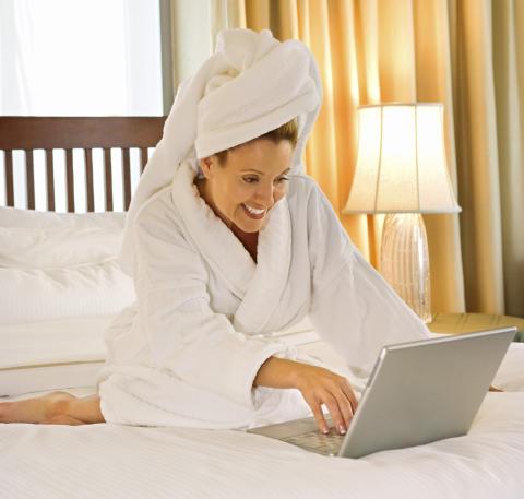 Vi vil ha trådløst på hotellrommet i ferien