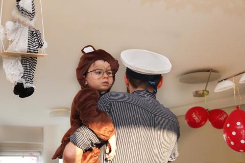 Fasching im Bärenherz: ein Spektakel für die Kleinen und Großen