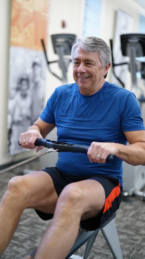 Pensjonistene troner på treningstoppen