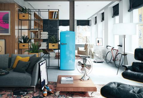 Den funky side af dig / Baby Blue Gorenje Retro Collection