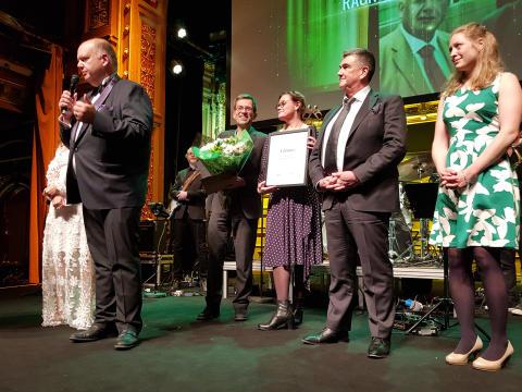 Ragn-Sells belönas som Årets Kretsloppsfrämjare