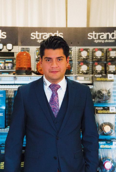 Johan Carlos, ny VD för Strands