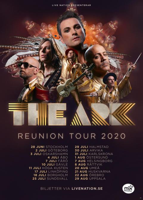 The Ark Reunion Tour 2020 - Poster