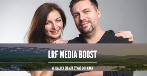 Snömoln först ut i LRF Medias satsning Media Boost